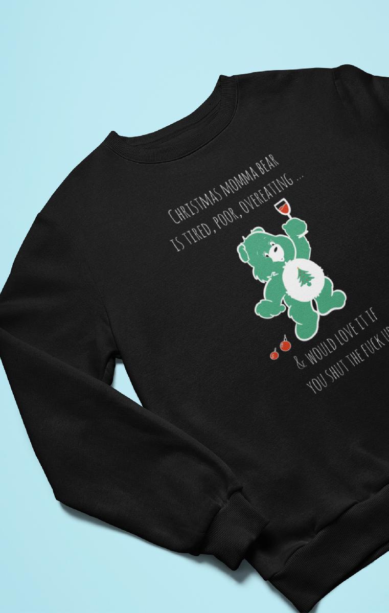 Christmas Care Bear Sweatshirt