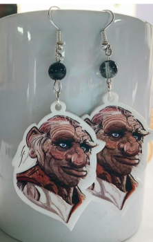 Hoggle Earrings - Labyrinth