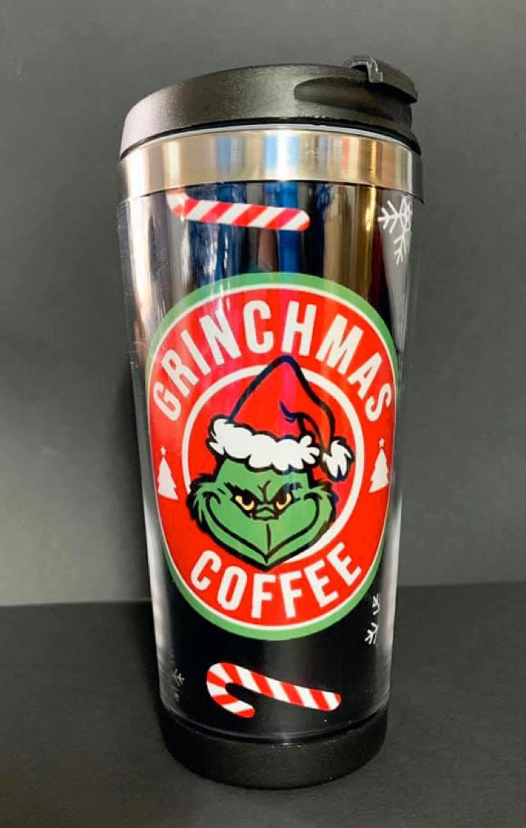 Grinchmas Travel Mug