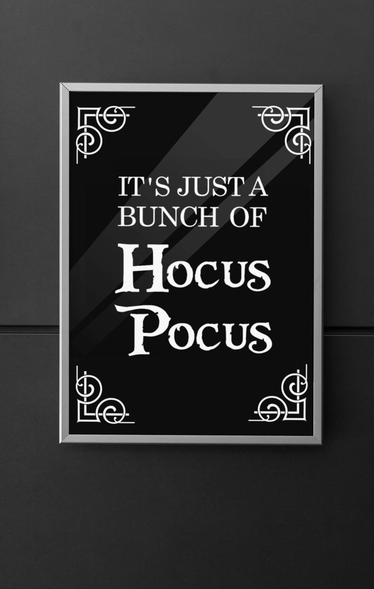 Hocus Pocus Quote Print RRP £4.99-£9.99