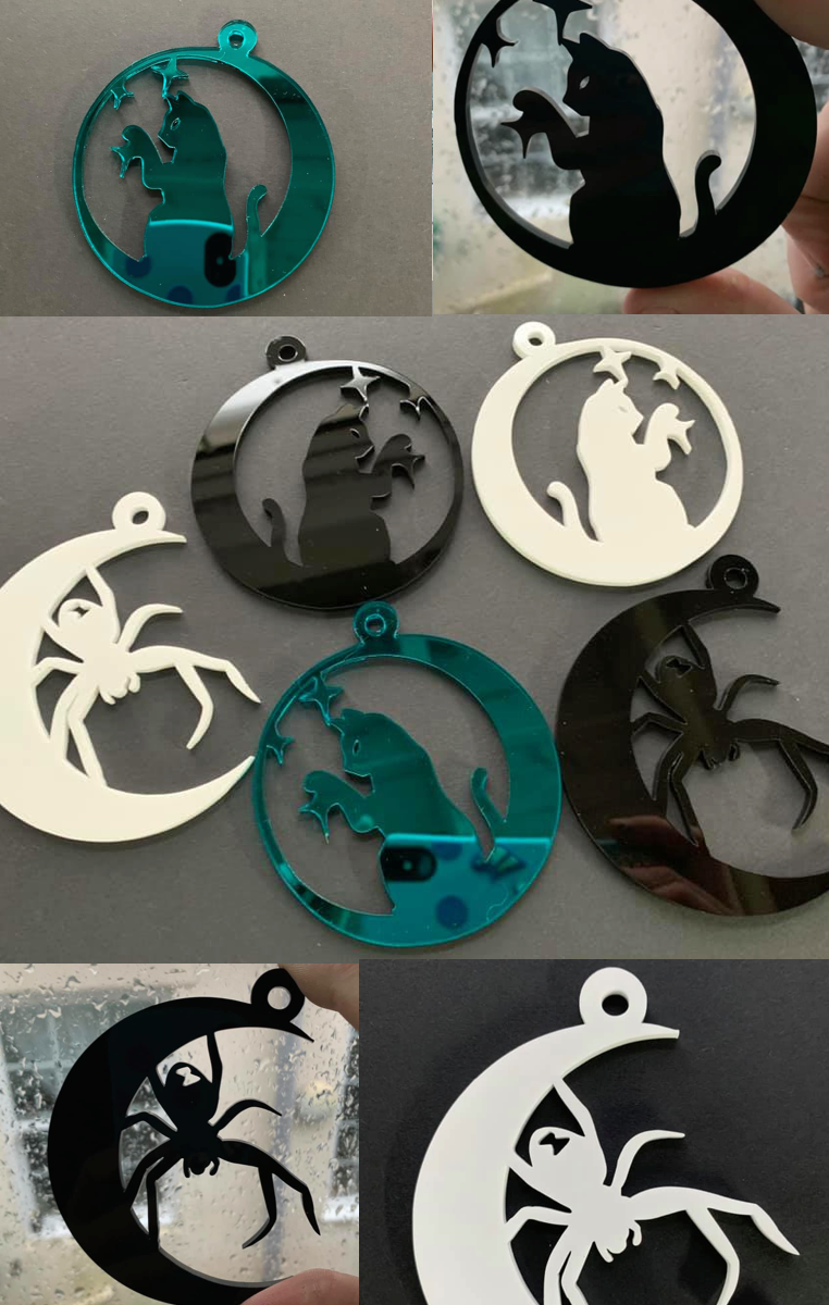 Moon Decorations (set of 2)