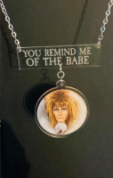 You Remind Me Of The Babe Necklace - Labyrinth