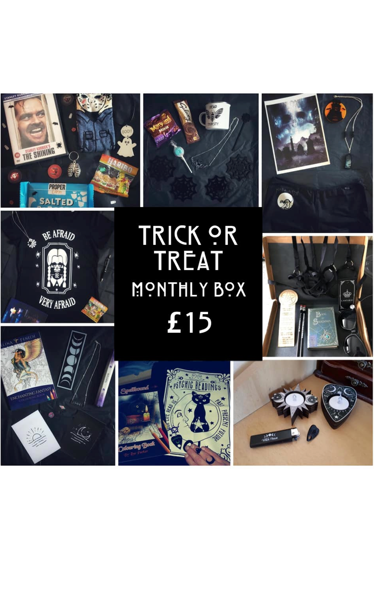 Trick Or Treat Subscription Surprise Gift Box