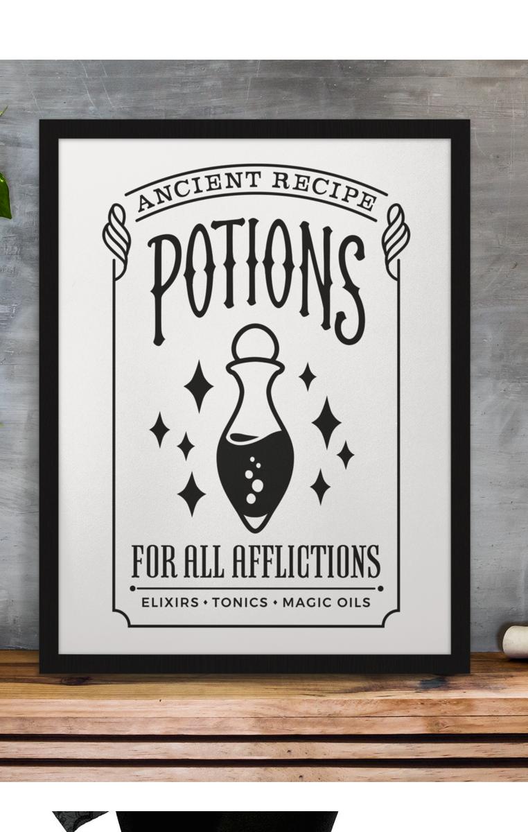 Potions Print RRP £4.99-£9.99