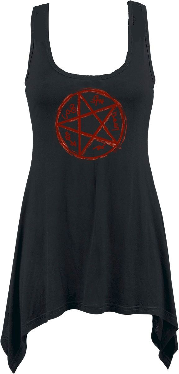 Supernatural Devils Trap Handkerchief Vest Dress RRP £29.99