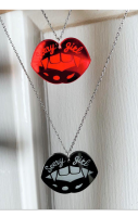 SCARY GIRL NECKLACE RRP £6.99