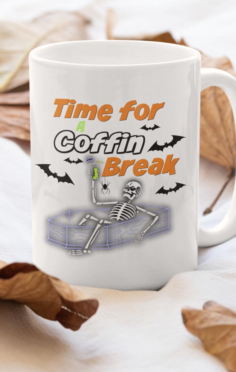 Coffin Break Mug