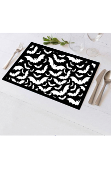 Bats Linen Placemats (Set of 4)