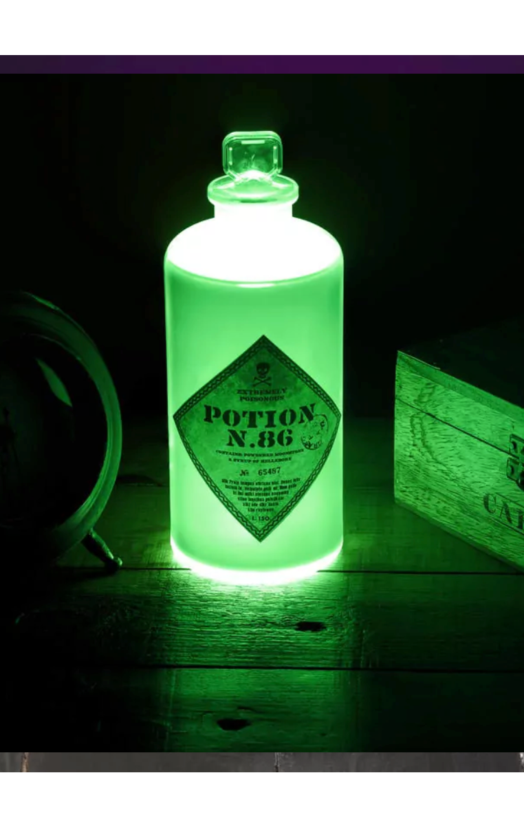Potion Bottle Light