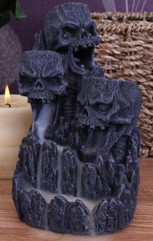 Skull Backflow Incense Tower