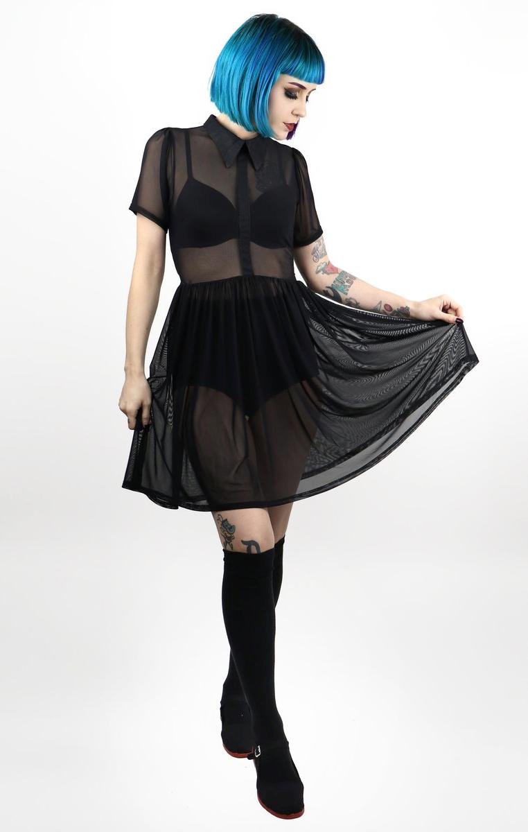 Courtney Mesh Dress