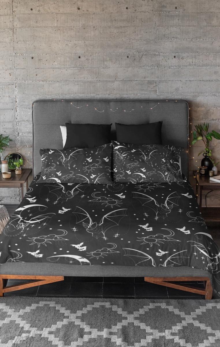 I Am The Night Duvet & Pillow Case