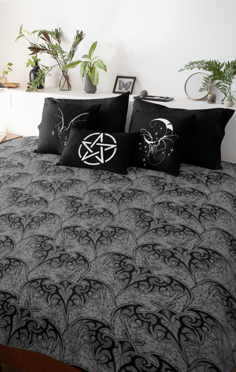 Lace Bats Triple Layer Super Soft Blanket