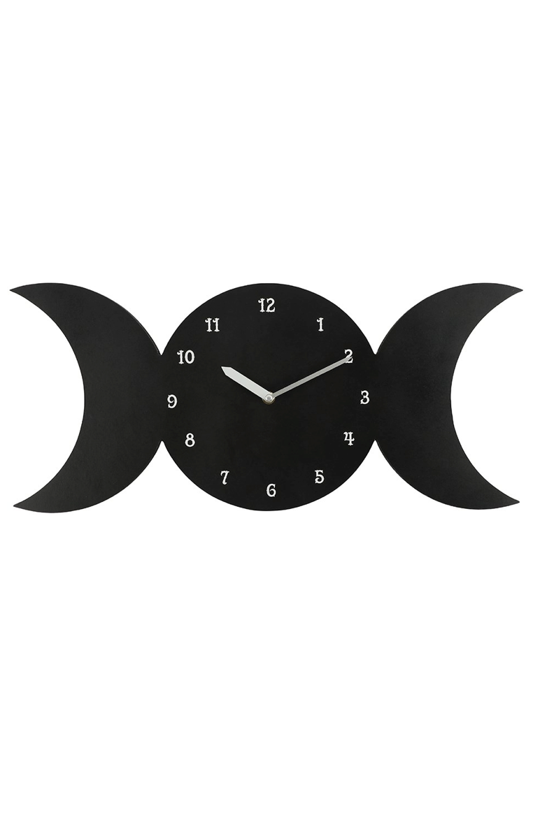 Triple Moon Clock