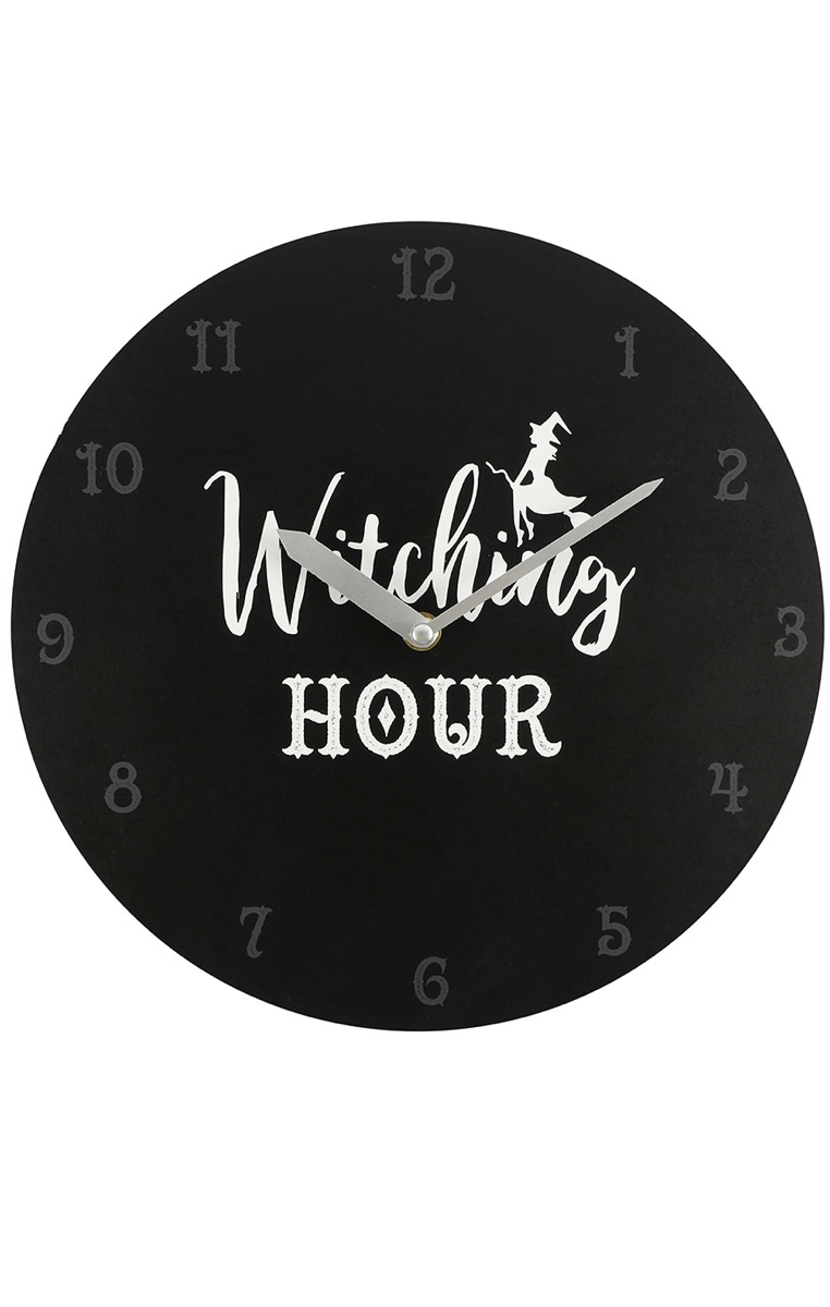 Witching Hour Black Clock