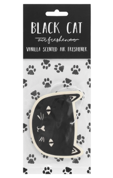 Black Cat Air Freshener #418