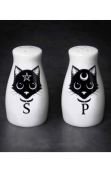 Cats Salt & Pepper Set #427