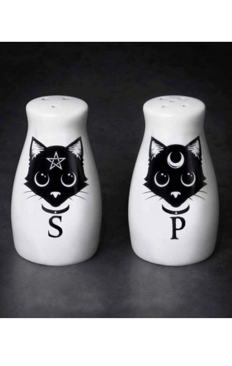 Cats Salt & Pepper Set