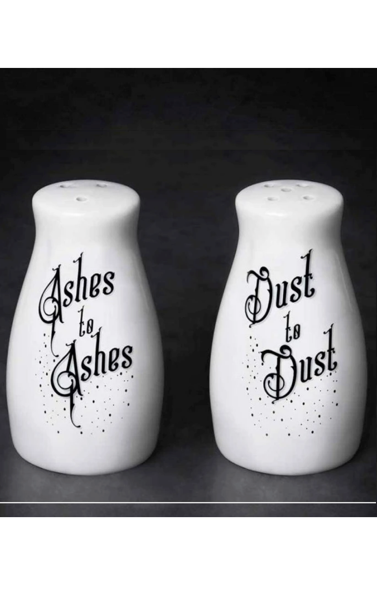 Ashes Dust Salt & Pepper Set #427