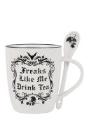 Freaks Like Me Mug & Spoon Set #323