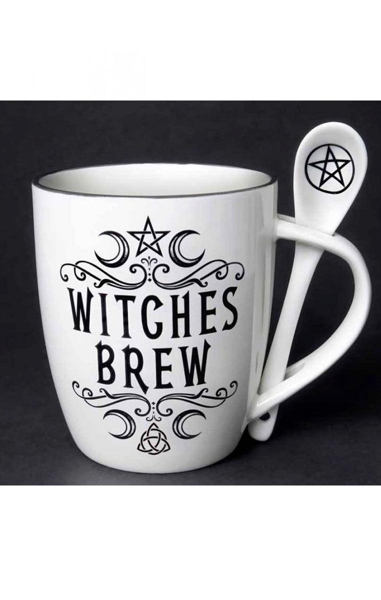 Witches Brew Mug & Spoon Set #318