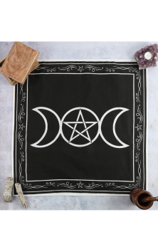 Triple Moon Altar Cloth 70x70cm #407