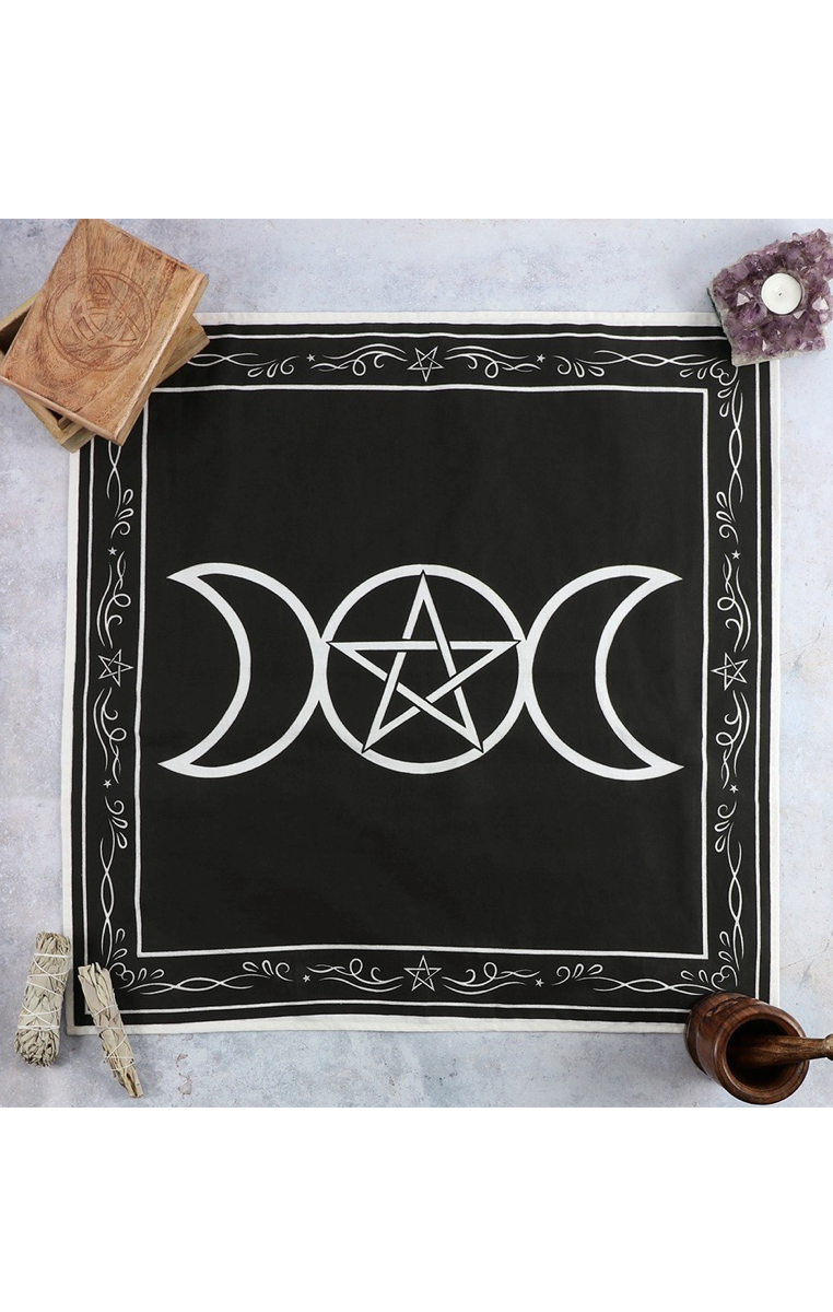 Triple Moon Altar Cloth 70x70cm #407