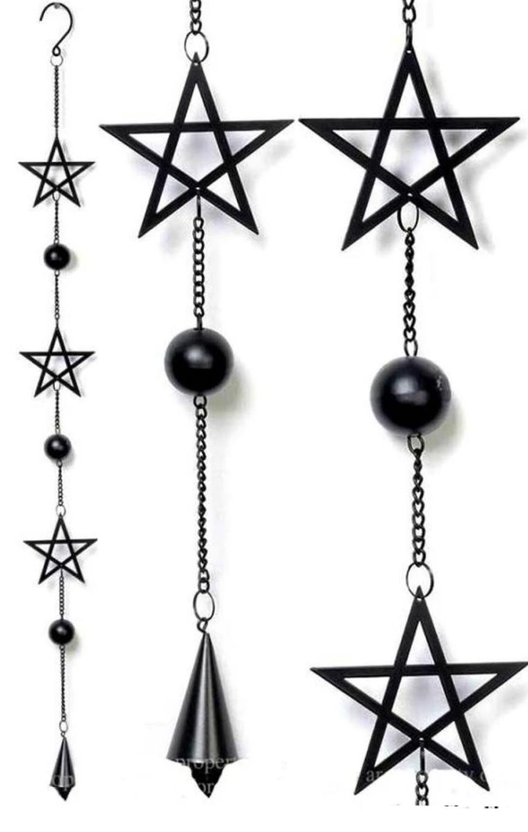 Pentagram Hanging Decoration #430