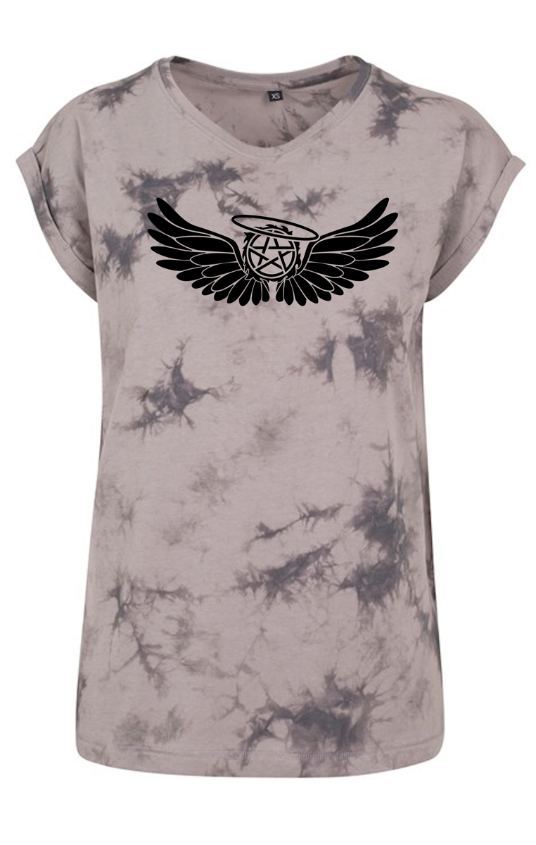 Castiels Wings Tye Dye TSHIRT