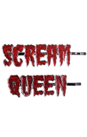 Scream Queen Hair Slides #309