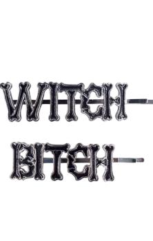 Witch Bitch Hair Slides #309