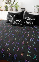 Runes Triple Layer Super Soft Blanket