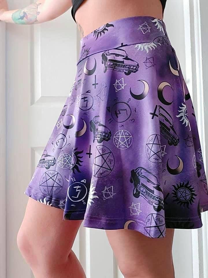 Supernatural Skater Skirt