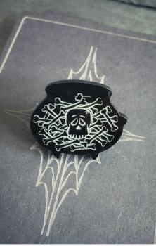Cauldron of Bones Pin Badge