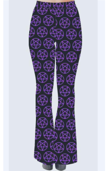 Purple pentagram Flares