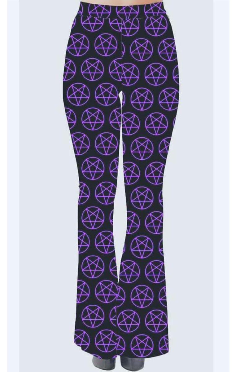 Purple pentagram Flares