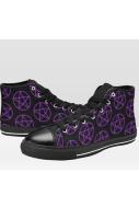 All Pent Up Purple Hi Tops