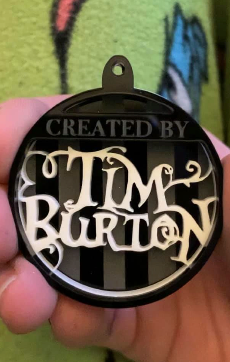 Tim Burton Layered Necklace