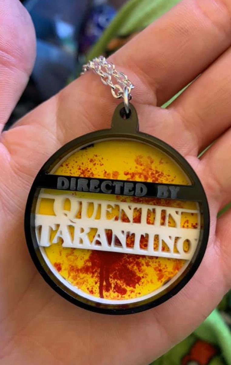 Quentin Tarantino Layered Necklace