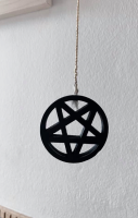 Pentacle Bathroom Light Pull