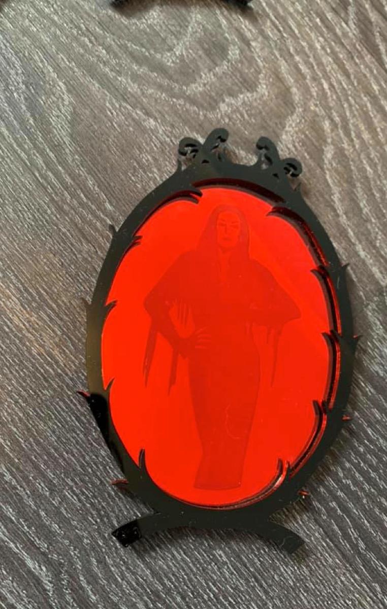 Morticia Icon Mirror Art
