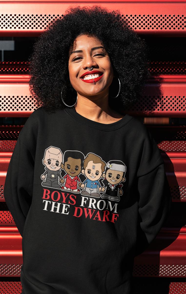 Boys From The Dwarf Sweatshirt