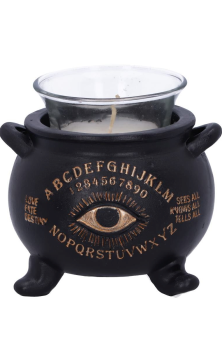 ALL SEEING CAULDRON CANDLE HOLDER