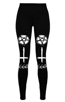 Straight To Hell Leggings