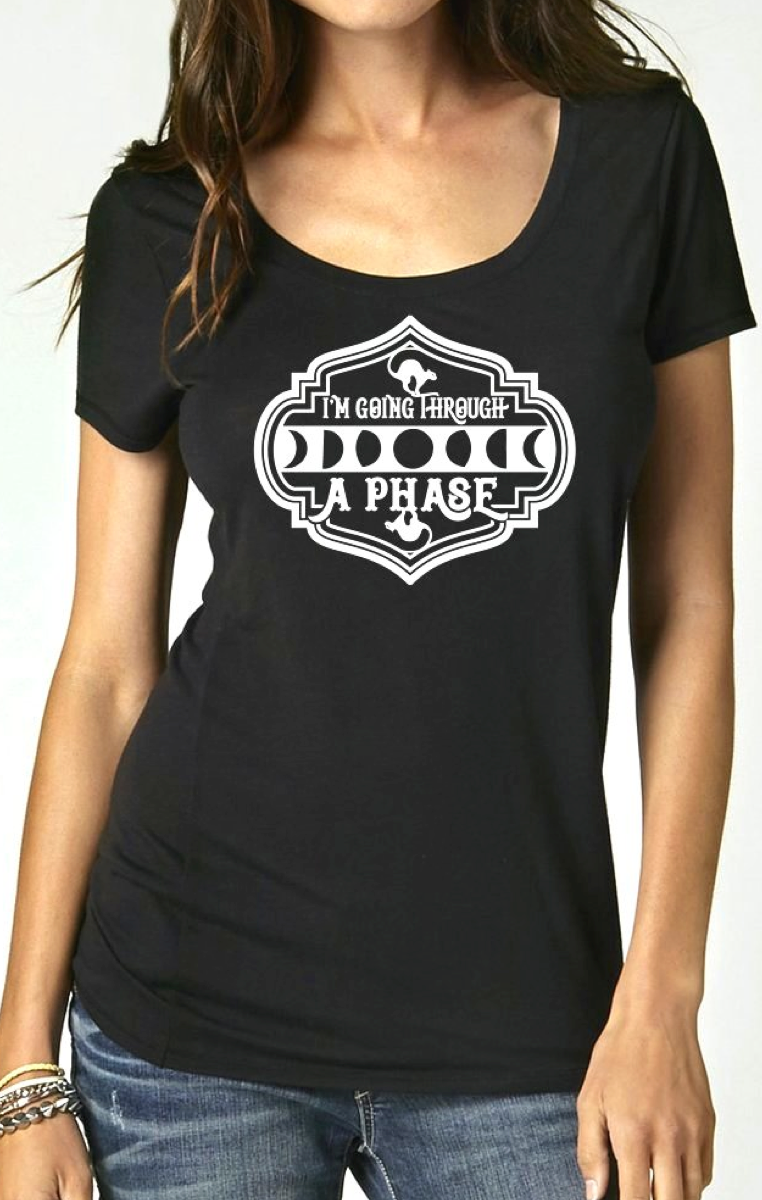 Going Through A Phase Scoop Tshirt RRP £19.99