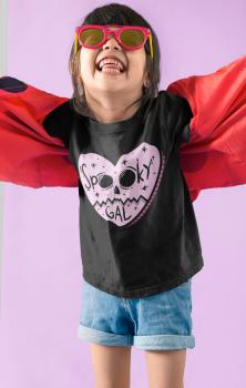 Spooky Gal Kids Tshirt