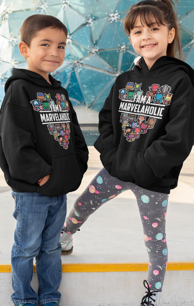 Marvelaholic Kids Hoodie