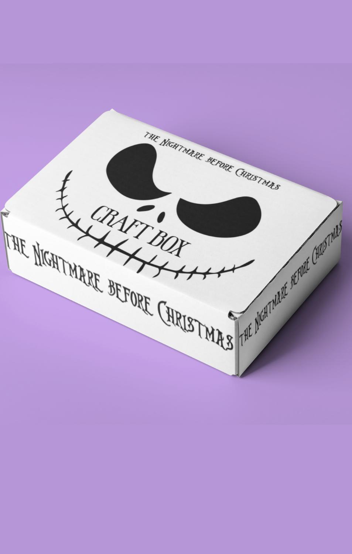 NIGHTMARE BEFORE CHISTMAS CRAFT Box