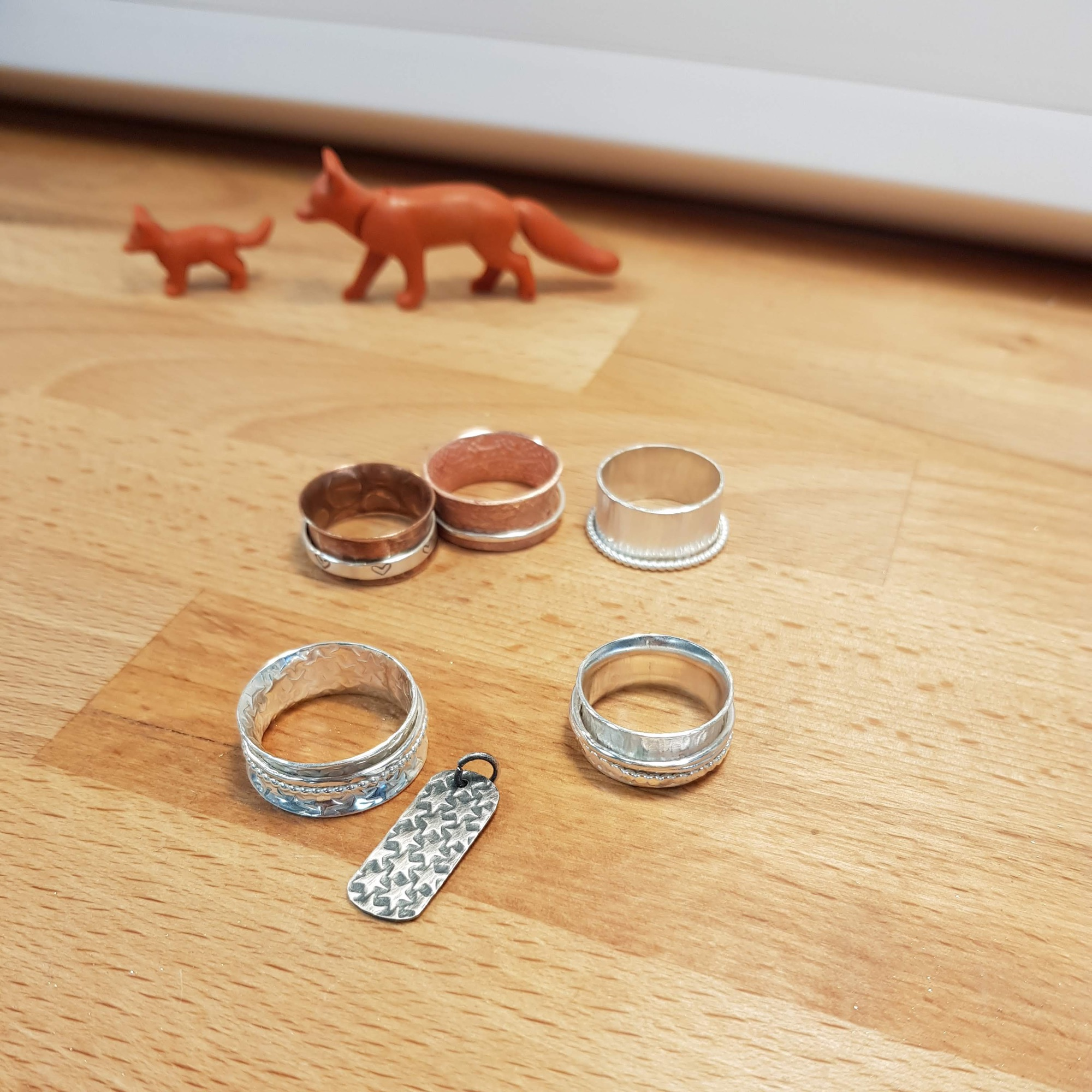 Spinner ring workshop, Warrington