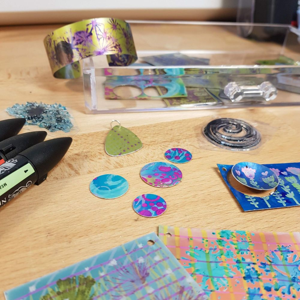 <!-- 009 -->Anodised Aluminium jewellery workshop - 2nd Feb